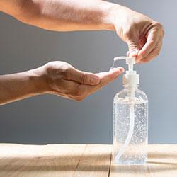 Αντισηπτικό χεριών καθαριστικό ενυδατικό gel Denol πλύσιμο
